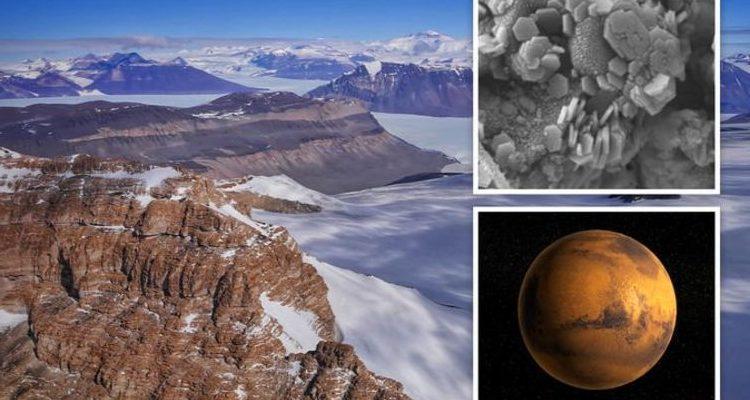 Сенсация в Антарктиде: в полярных льдах обнаружен Марсианский минерал