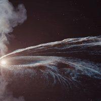 Впервые астрономы обнаружили «призрачную частицу», от разорванной звезды