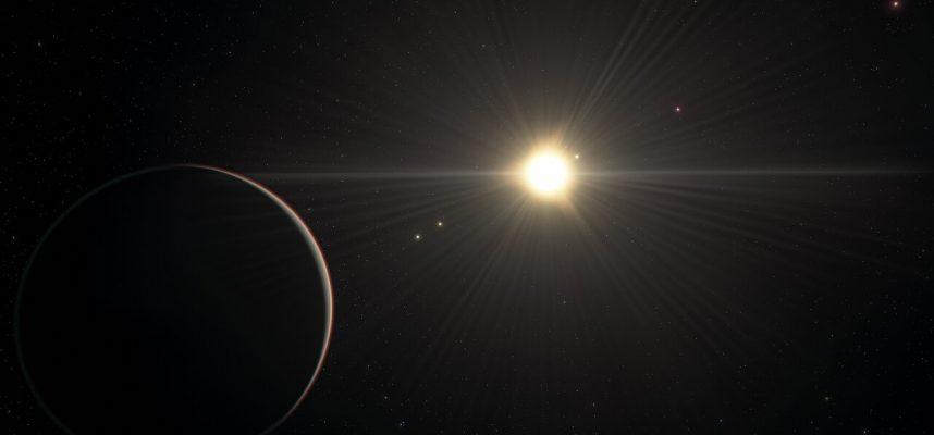 Шесть планет связанные в сложном «орбитальном танце», обнаружены в 200 световых годах от Земли