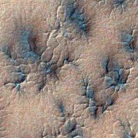 Ученые продемонстрировали, откуда возникают «пауки» на Марсе