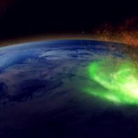 Впервые над Северным полюсом обнаружен «космический ураган»