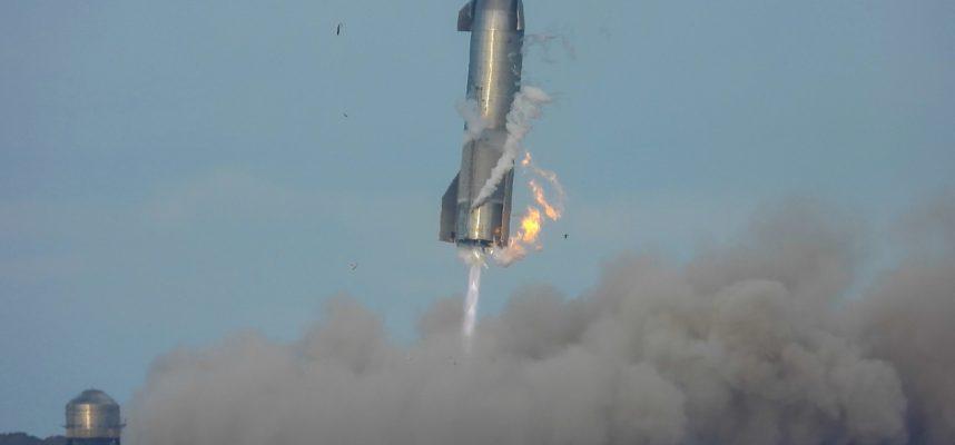 Угадайте, что произошло с последним прототипом космического корабля SpaceX