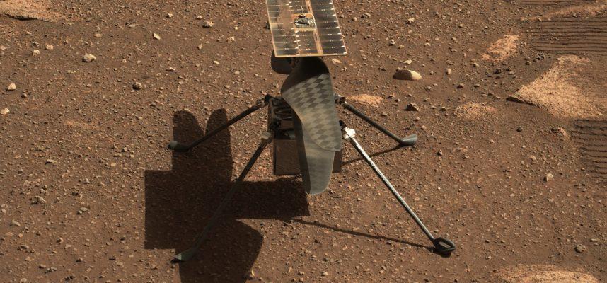 Ingenuity в порядке? Вертолет НАСА на Марсе не смог взлететь в четвертый раз