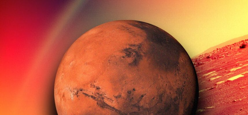 NASA: Это не радуга! Снимок с Марса стал вирусным