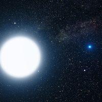 Сириус, самая яркая звезда в ночном небе