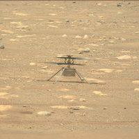 Посмотрите, как вертолет NASA Mars Ingenuity проверяет свои лопасти!