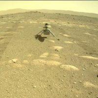 Это произошло! Вертолет НАСА Ingenuity спущен на Красную планету