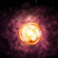 Загадочно медленные импульсы от старых гигантских звезд получили объяснение