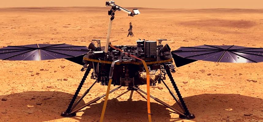 Марсианский посадочный модуль НАСА Insight находится в кризисе и перешел в экстренную спячку