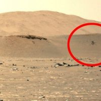 Завораживающее видео третьего, удивительно долгого полета Ingenuity на Марсе