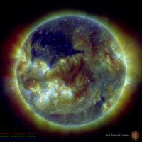 В ядре Земли могут быть благородные газы от древних порывов солнечного ветра