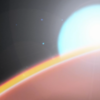 Земная молекула впервые обнаружена в атмосфере экзопланеты