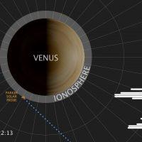 Зонд принял низкочастотный радиосигнал из атмосферы Венеры