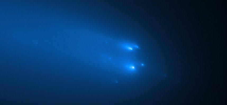 Космический зонд пролетает сквозь пыльный хвост взорвавшейся кометы