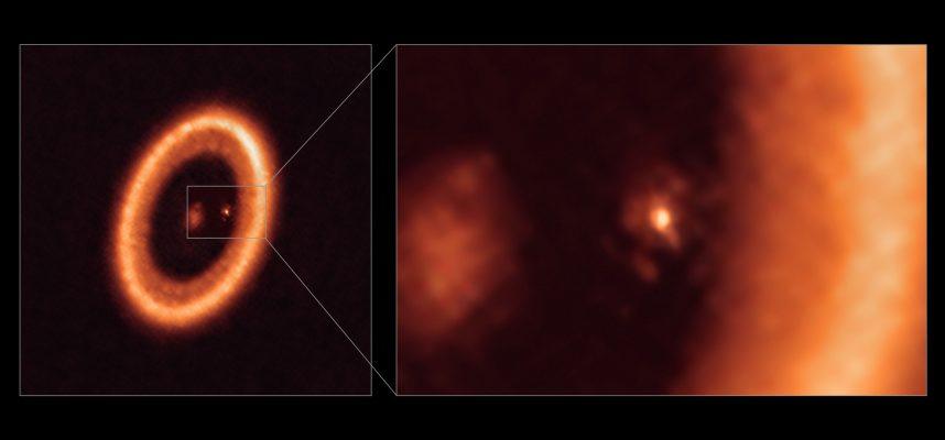 Впервые астрономы обнаружили диск, образующий луну вокруг экзопланеты