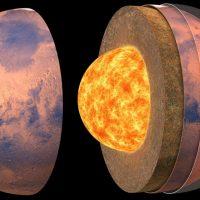 Впервые создана подробная карта внутреннего строения Марса