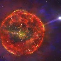 Астрономы обнаружили сверхбыстрый осколок сверхновой