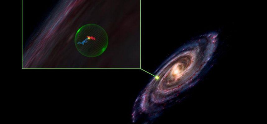 Астрономы обнаружили гигантскую сферическую пустоту в космосе