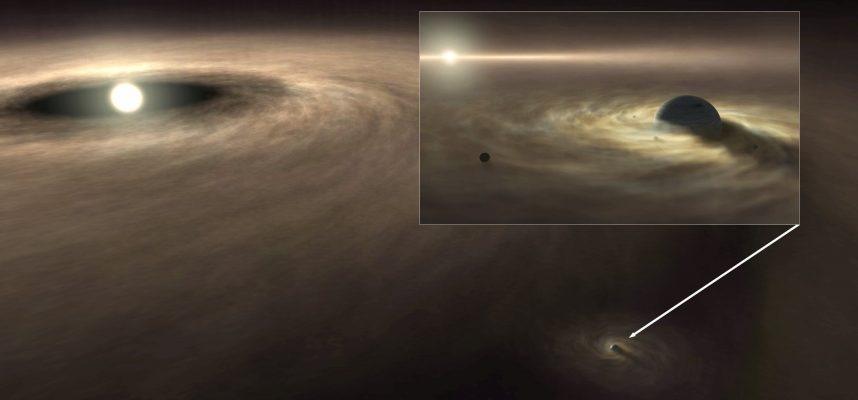 В нашей Солнечной системе обнаружено более 450 ранее неизвестных объектов