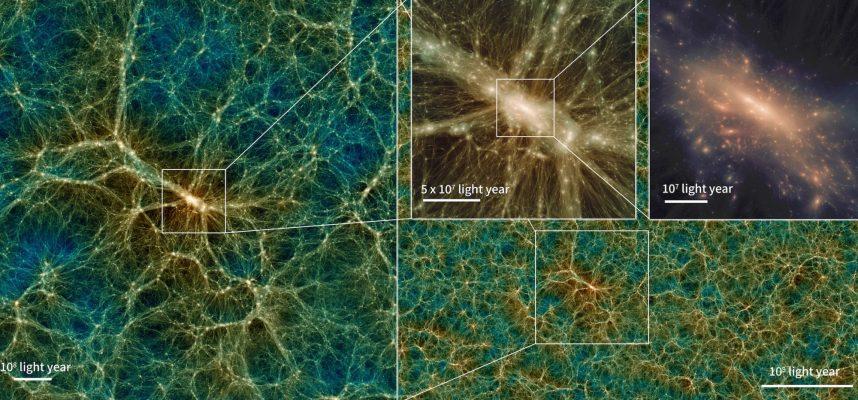Исследователи создали виртуальную Вселенную, и ее можно скачать