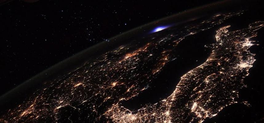 Что было сфотографировано с космической станции?