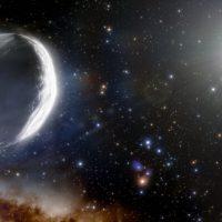 Гигантская комета приближается из внешних пределов Солнечной системы